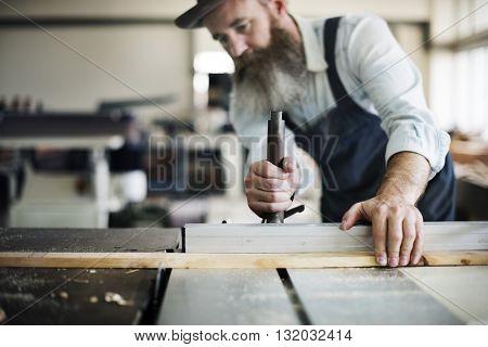 Carpenter Craftsmanship Carpentry Handicraft Wooden Concept