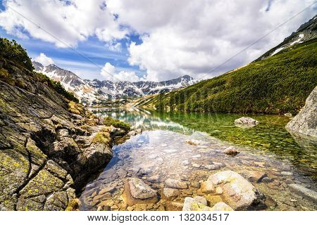 The Great Pond In The Polish Mountains