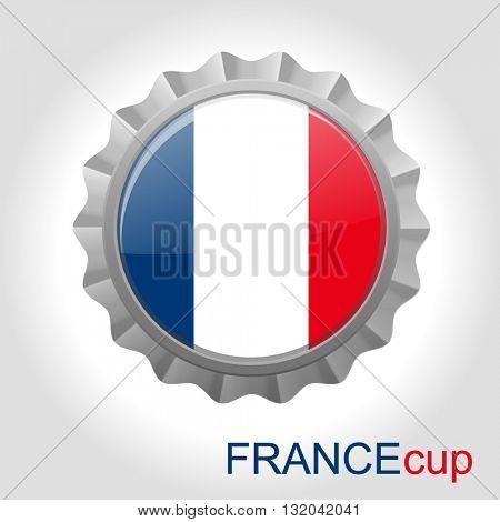 France flag cup