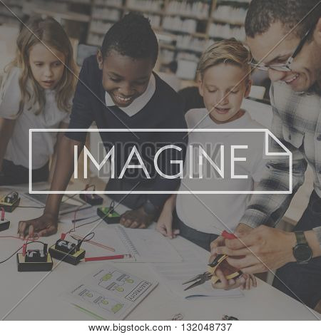 Imagine Imagination Ideas Creativity Envision Concept
