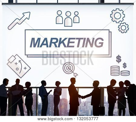 Marketing Business Commercial Product Graphic Concept