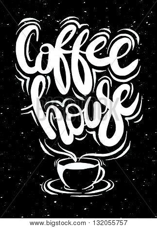 Coffee Cup Vector Logo Design Template