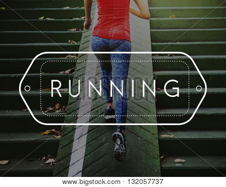 Run Jogging Exercise Fitness Workout Concept