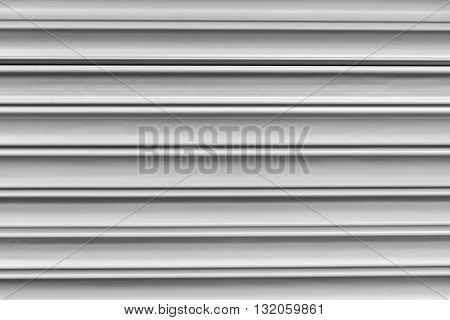close-up to the shutter door texture in factory entranceshutter door texture