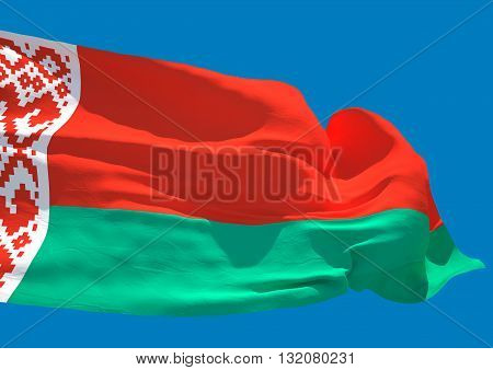 Belarus wave flag HD Republic of Belarus