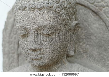 Head of The Amitabha Statue 8th - 10th century