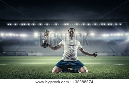 He is the champion