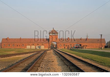 Auschwitz Ii Birkenau A Former Nazi Extermination Camp