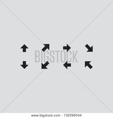 Arrow Icon Vector. Arrow logo. Arrow Sign.