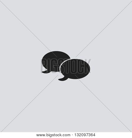 Quote bubble Icon Vector. Quote bubble Icon logo.