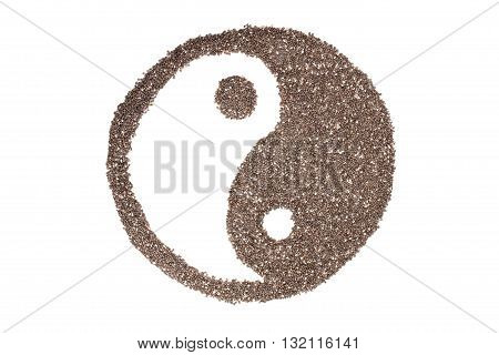 Chia Seeds Or Salvia Hispanica
