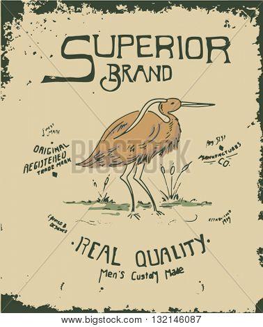 vintage label arwork 6
