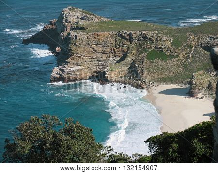 View Of Cape Point Cape Town South Africa