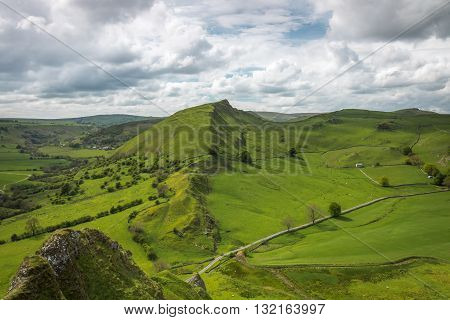 Parkhouse Hill from Chrome Hill, Peak District