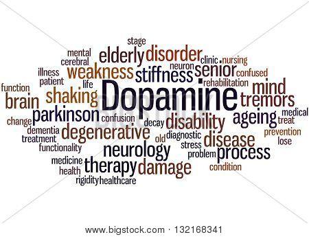 Dopamine, Word Cloud Concept