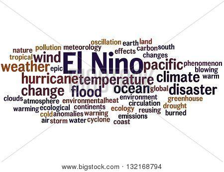 El Nino, Word Cloud Concept 5