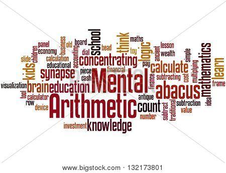 Mental Arithmetic, Word Cloud Concept 4