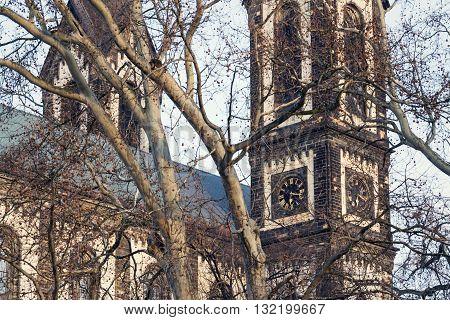 Church Of Saints Cyril And Methodius In Prague, Czech Republic