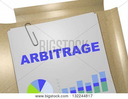 Arbitrage Business Concept