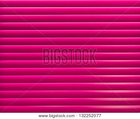 Pink blinder panel background/ backdrop. Horizontal pattern.