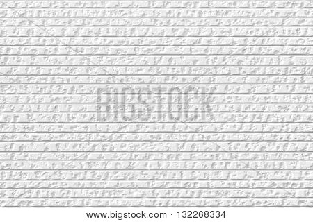White Wall Pattern Texture For Background.
