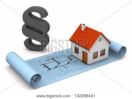 House Architectural Drawing Paragraph