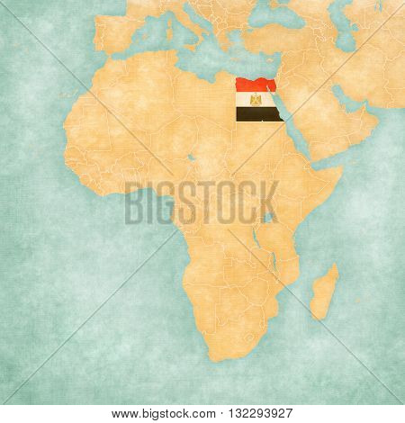 Map Of Africa - Egypt