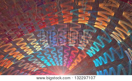 Abstract ray beam. Fine and detailed microtexture.