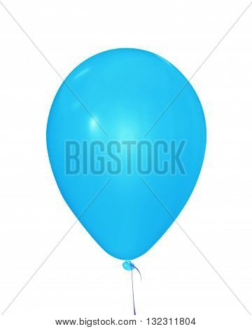 Balloon Isolated - Light Blue