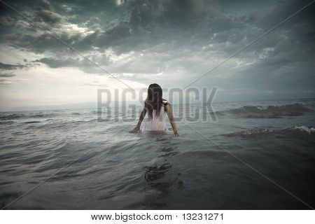 Creature In The Sea