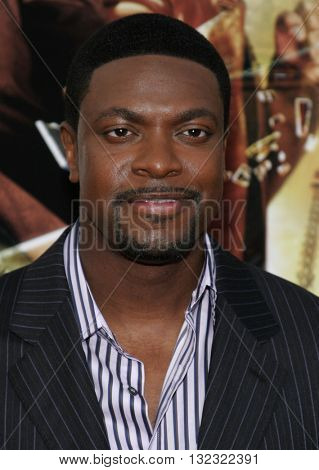 Chris Tucker at the Los Angeles premiere of 'Rush Hour 3' held at the Grauman's Chinese Theater in Hollywood, USA on July 30, 2007.