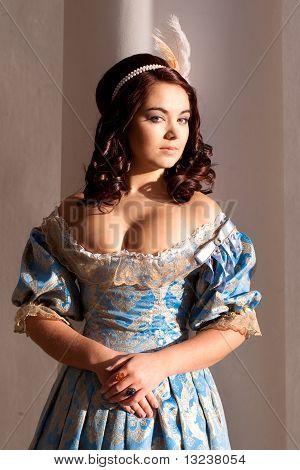 Lady In Blue