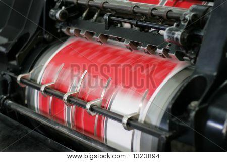 Druck-und Papierschneideanlagen Prozess