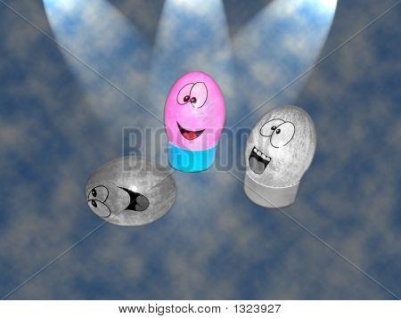Stock Photo Illustration Of Easter Eggs