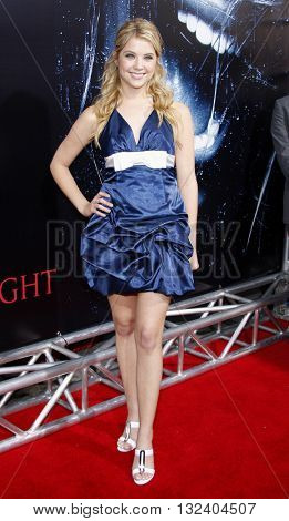 Ashley Benson at the World premiere of 'Prom Night' held at the Arclight Theater in Hollywood, USA on April 9, 2008.
