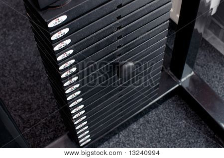 Stack Of Weights