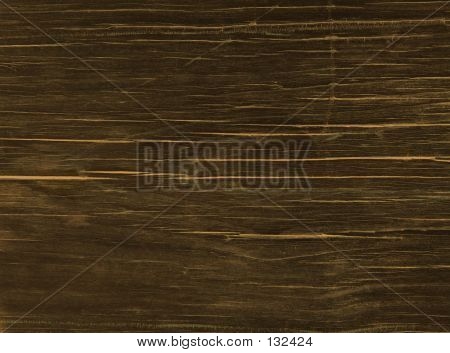 Stained Redwood Plank