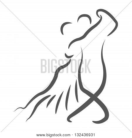 Dancing Couple Logo.