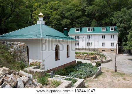Cosmo-Damianovsky monastery in the mountains of Crimea