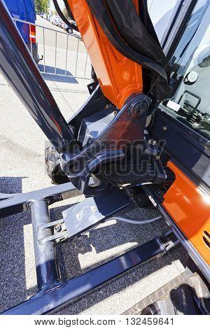 Excavator Digging Detail