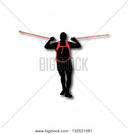 Hiker Man 4.eps