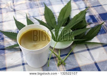 Homemade hemp salve naturally homemade ointment medical miracle handmade