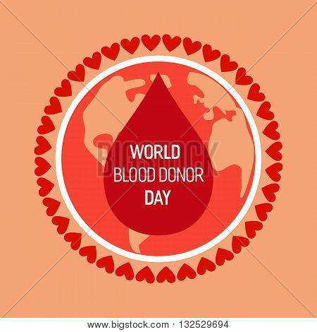 Donate blood design creative vector photo bigstock donate blood design creative donor poster blood donation medical poster world blood donor thecheapjerseys Image collections