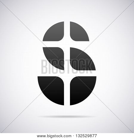 Logo for letter S design template vector illustration
