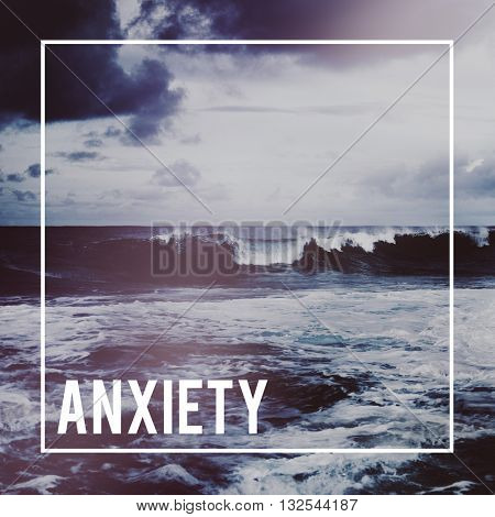 Anxiety Panic Stress Nervous Tension Mental Health Psychology Concept