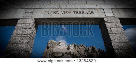 Mt Rushmore Usa Presidents