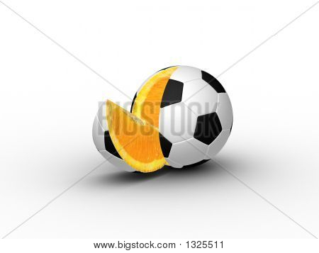 3D Slice Ball (Footborange)
