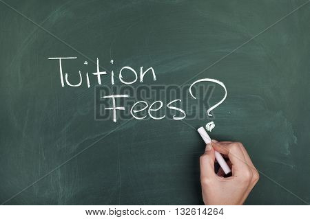 Tuition Fees / Educational costs and finance concept