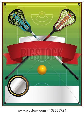 Lacrosse Event Flyer Template
