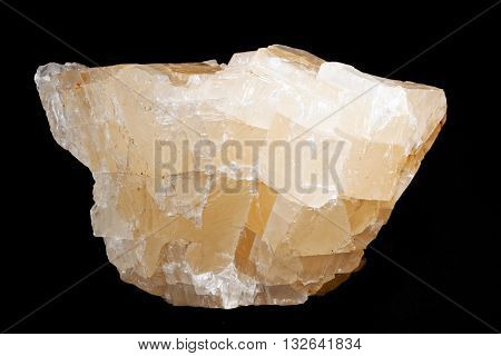 Calcite Mineral From The Group Of Carbonate